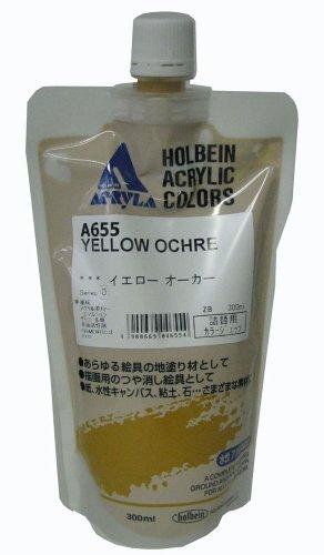 Holbein Acryl Gesso La 300ml Farbe Ockergelb Refill A655 (Japan Import / Das Paket und das Handbuch werden in Japanisch)