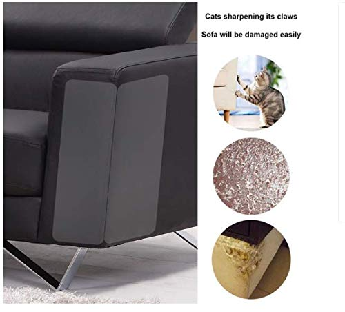 Daxoon Protectores de Muebles de Mascotas, Protector de sofá para Gato, para Evitar arañazos (13,5 x 4,5 Pulgadas)