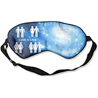 Love Is Love 99% Eyeshade Blinders Sleeping Eye Patch Eye Mask Blindfold For Travel Insomnia Meditation preisvergleich bei billige-tabletten.eu