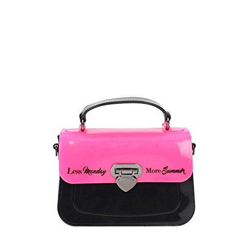 Le Pandorine POP UP RUBBER MINI Borse Accessori Pink/Black