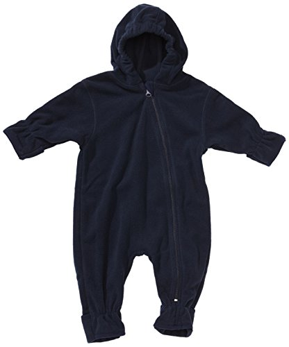 Playshoes Unisex - Baby Overall Fleece-Overall von Playshoes, Art. 421002, Gr. 80, Blau (11 marine)