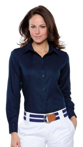 Kustom Kit - Workwear Oxford Bluse LA White