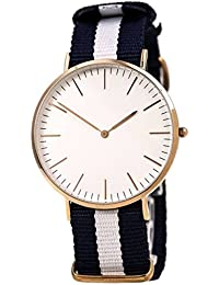Nexter New Arrival Special Collection Luxurious Slim Dial Black White Stylish Belt Analog Watch For Boys And Girls...