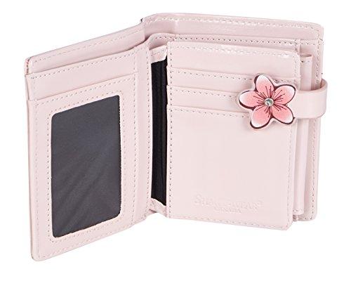 Shagwear portafoglio per giovani donne Small Purse : Diversi colori e design: lampioncino rosa / Lanterns