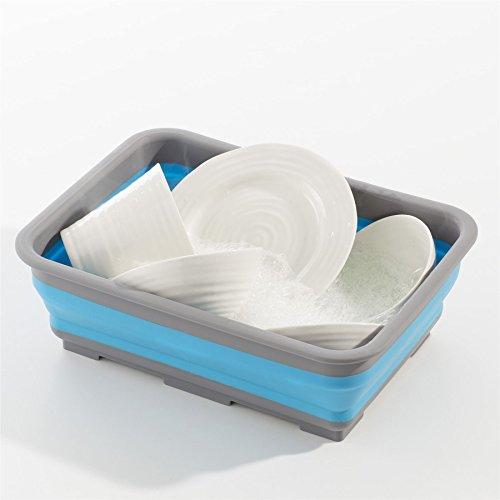 Sohler klappbar Waschen, Reinigung Napf Gericht Badewanne Faltbar Space Saver Kompakte Wiederverwendbare Camping-Küche Waschbecken Faltbare Wasser Spüle