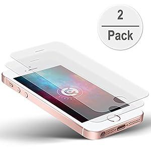 2x cTRON21® AIR Panzerglas Schutzfolie iPhone SE 5S
