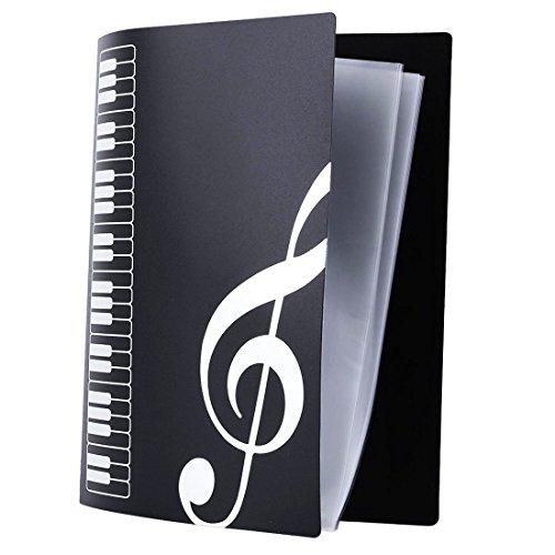 myckuu-music-folder-themed-20-pockets-plastic-folder-display-book-soft-cover-music-themed-keyboard-d