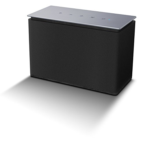DYON Area S Multiroom Lautsprecher Sound System, Apple iOS/Android App, Spotify, tuneIn Radio, Internetradio, 10W, S schwarz