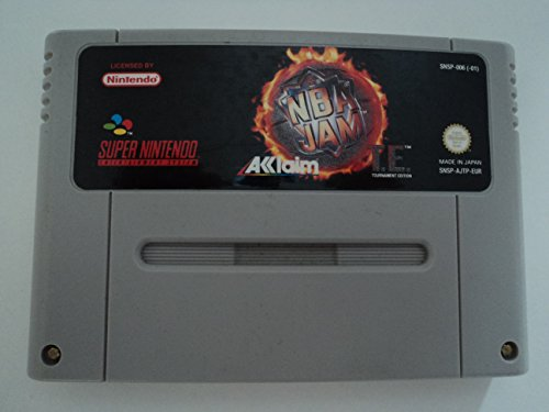 NBA Jam Tournament Edition SNES
