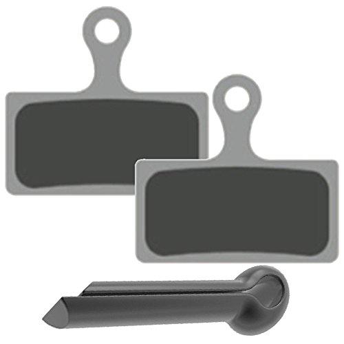 2komplette Sets für vorne und hinten Gorilla Bremsen gesintert Bremse, Pads mit starker Spring und Split Pin Fit Shimano BR M615M666M675M785M985M987M988M8000M9000M9020R315R317R515R517R785RS785S700CX75cx77. Mechanische und hydraulische,. Auch kompatibel mit Pads Modelle F01A F03C G01A G01S G02A g03C und G03TI