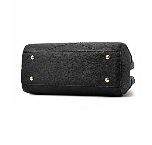 Handtaschenhandtasche Beiläufiger Schulterbeutel Kurierbeuteloberteilpaket Elegante Atmosphäre Wilde Freizeit Black