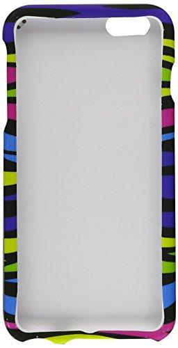 Eagle Zelle Snap auf Bild Hard Case für Apple iPhone 6Plus-Retail Verpackung, Rainbow Zebra Zebra Hard Snap