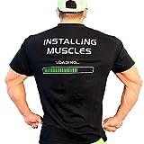 FREAK T-Shirt Black Installing Muscles (L)