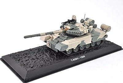 T-80 1/72 Panzer Die-Cast Fertigmodell in Vitrine von IXO/ALTAYA/ATLAS