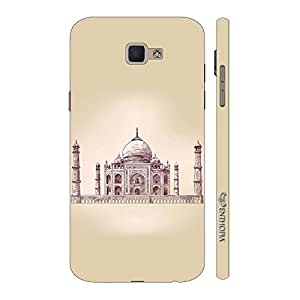 Enthopia Designer Hardshell Case The Taj Mahal Back Cover for Samsung Galaxy J7 Prime SM-G610F
