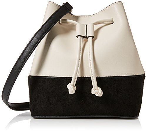 New Look Damen Mono Duffle Bowling Tasche, Weiß (White), 8x19x22 centimeters