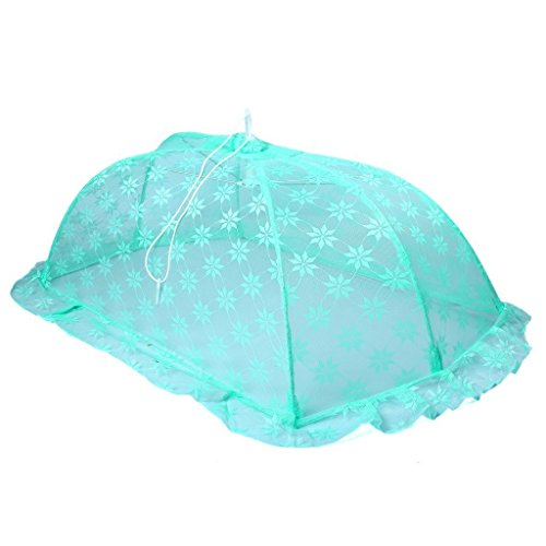 Baby Station Mosquito Net Floral Design (Large, Green)