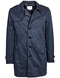 SELECTED - Herren trench jacke berkeley coat 16055908 xxl dunkelblau