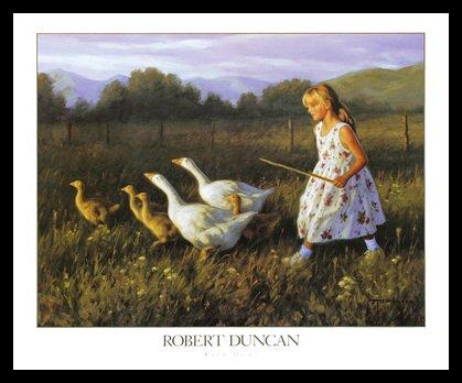 Robert Duncan Back Home Poster Kunstdruck Bild im Alu Rahmen in schwarz 56x66cm - Germanposters (Robert Duncan Bilder)