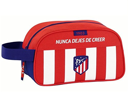 Atletico De Madrid – Neceser con asa y adaptable a carro de atletico de madrid (Safta 811758248)