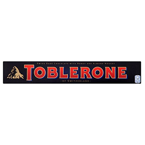 Toblerone Dunkle Schokolade (100G) - Toblerone-schokolade