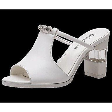 Sandales Pour Femmes Rtry Comfort Summer Pu Casual Noir Blanc 2a-2 3 / 4in Us6 / Eu36 / Uk4 / Cn36