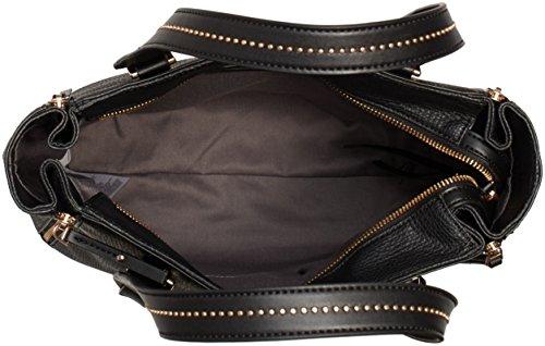 Calvin Klein Jeans  CRYSTAL NS TOTE, Sacs portés épaule femme Noir - Schwarz (BLACK 001 001)