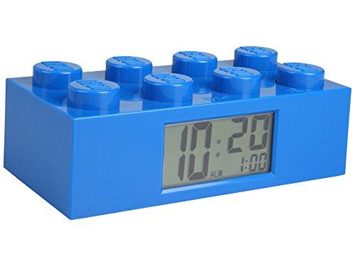Lego 9002151, Despertador Luz Infantil, Pantalla LCD
