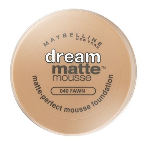 Maybelline Dream Matte Mousse Foundation 040 Fawn by Maybelline