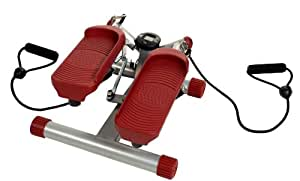Christopeit Twist'n Step Pro Stepper Argent/Rouge