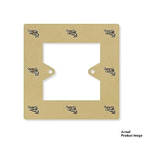 'Cartoon Moose' Square Light Switch Plate / Surround (LS00021637)