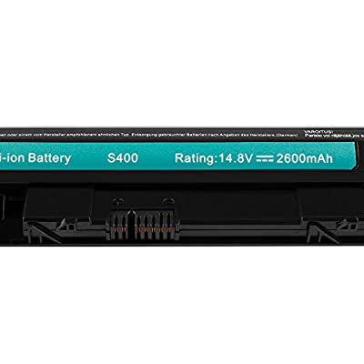 Dtk L12S4Z01 L12S4L01 Laptop Battery Replacement for LENOVO IdeaPad S300 S310 S310 Touch S400 S400 Touch S400u S405 S410 S410 Touch S415 S415 Touch Notebook 2600MAH