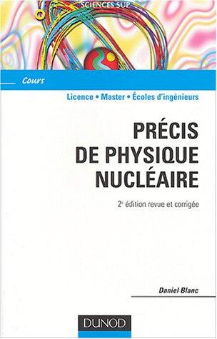 Précis de physique nucléaire