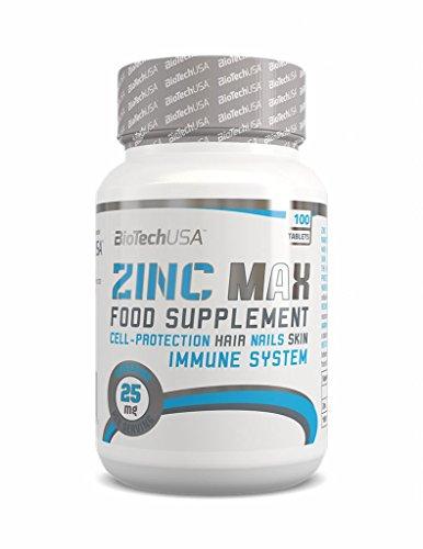 Biotech USA Zinc MAX 100mg, 100 Tabletten (2er Pack)