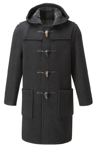 Montgomery duffle coat pour homme charbon 56