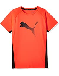 Puma–Camiseta infantil Active Rapid Cat Graphic té, red Blast, 128, 83874210
