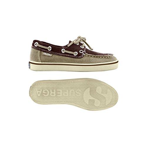 Superga 2001-SUEJ S002HF0, Chaussures de voile garçon Multicolore - Desert-Dk Chocolate