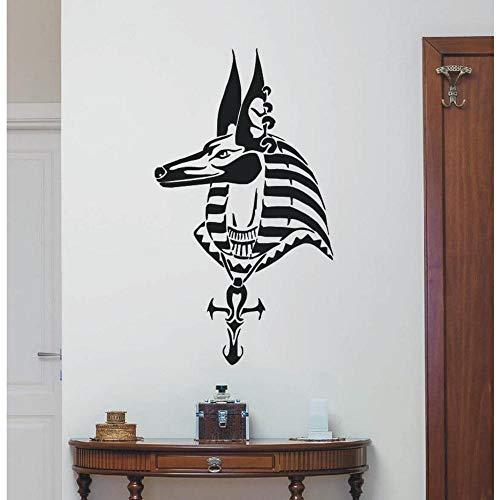 Familie Und Küche Mode Schlafzimmer Wandaufkleber Ägyptischer Gott Pferd Wohnkultur Wandkunst Aufkleber Aufkleber Mural30 * 57Cm - Komfort ägyptische