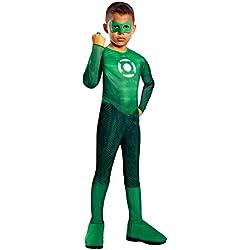Rubie's-déguisement officiel - Disney- Déguisement Costume Classique Green Lantern - Taille S3-4 ans- I-884571S