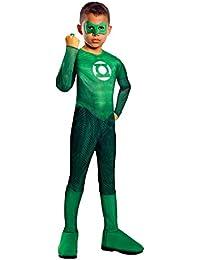 Green Lantern Hal Jordan Kostüm Kinder Kinderkostüm Superheld Grün Gr. S - L