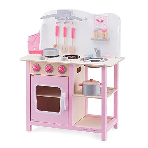 New Classic Toys Küchenzeile Bon Appetit Spielset (Küche Pretend Spielset)