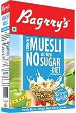 Bagrry's No Added Sugar Crunchy Muesli, 500g