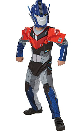 Rubie's 3610613 M - Robots in Disguise Optimus Prime Deluxe Child (Kostüm Amazon Prime)