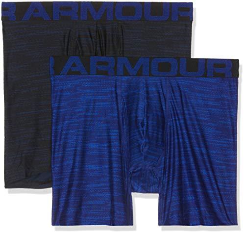 Tech 6in 2 Pack Novelty Unterhose, Blau, XXL ()