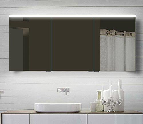 Lux-aqua Badezimmerspiegelschrank – 140 cm - 2