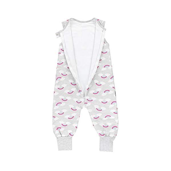 TupTam Saco de Dormir con Piernas para Bebés 2.5 TOG