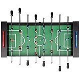 Football Table De Jeu Intérieure Babyfoot Standard 8 Pour Enfants Adultes Jouets Grand Baby-foot Cadeaux Centres Commerciaux Consoles De Jeux Pour Adultes Sports ( Color : Black , Size : 138*66*87cm )