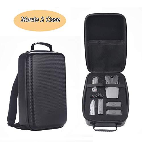 Pilaoban Mavic 2 Tasche,Wasserdichte Hardshell Aufbewahrungs Koffer für DJI Mavic 2 Pro / Mavic 2 Zoom Rucksack