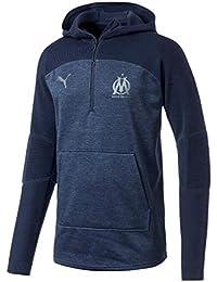 Puma Sweatshirt Olympique de Marseille bi-matière 2018 2019 4735681bf4f00
