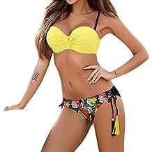 Bikini Sexy Mujer Push up Trajes,JiaMeng Sujetador Push-up Bikini Set Traje de